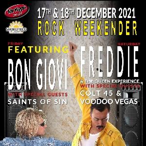 Shorefield Rock Weekender - Saturday Tickets