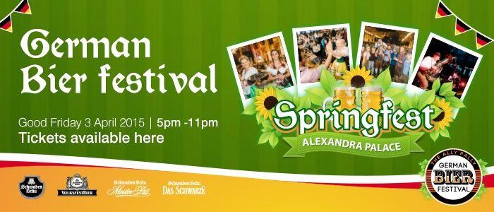 Springfest at Alexandra Palace