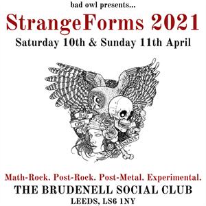 Strangeforms 2021 - Saturday Day Ticket