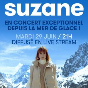 SUZANE CONCERT EXCEPTIONNEL DEPUIS LA MER DE GLACE
