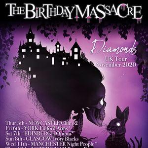 The Birthday Massacre - Diamonds UK Tour