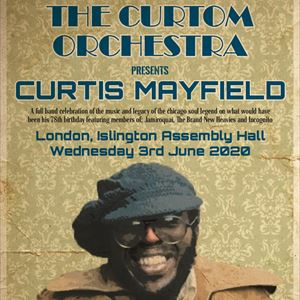 THE CURTOM ORCHESTRA presents Curtis Mayfield