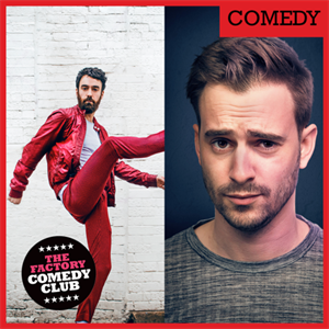 The Factory Live Comedy Club April