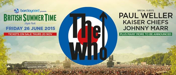 The Who - British Summer Time Hyde Park