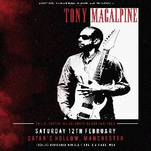Tony Macalpine - Manchester