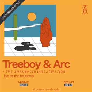 Treeboy & Arc - 2nd date added