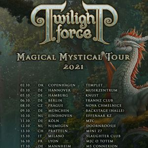 TWILIGHT FORCE - Magical Mystical Tour 2021