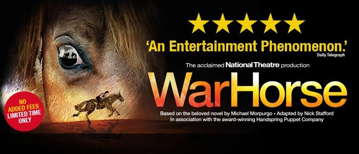 Experience the unforgettable journey of War Horse, live at the New London Theatre.