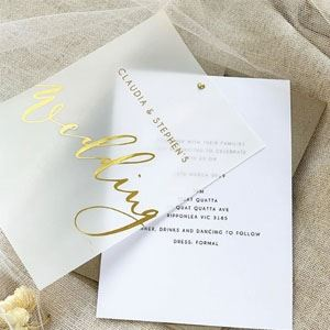 Wedding Invitations design & print education class