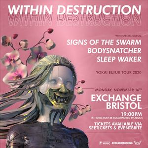 Within Destruction at Exchange, Bristol