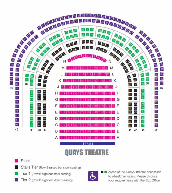 Quays Theatre - The Lowry