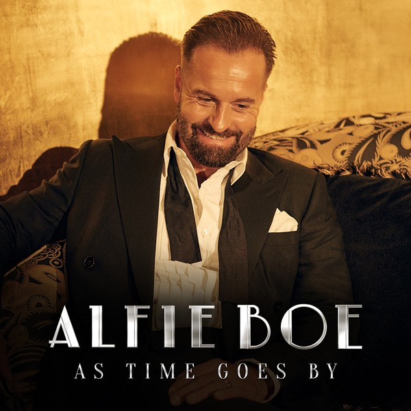 Alfie Boe: 'As Time Goes By' album cover