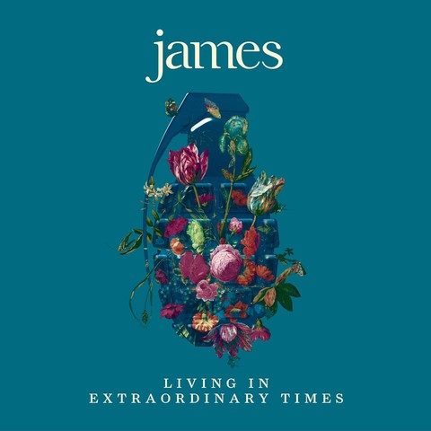 James - 'Living in Extraordinary Times' album cover