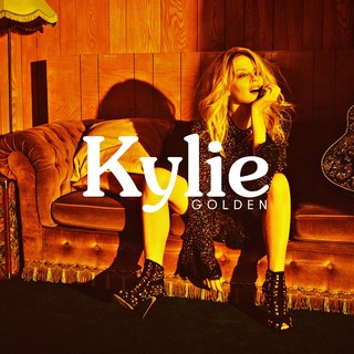 Kylie: 'Golden' album cover