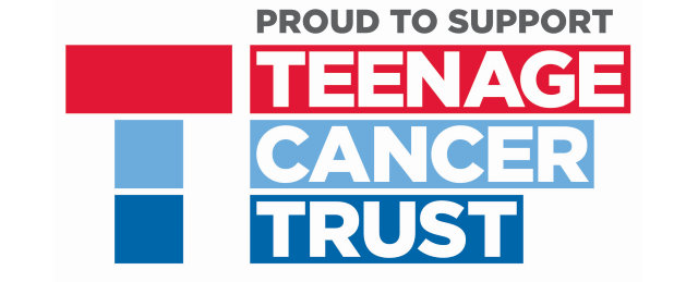 Proud to support Teenage Cancer Trust