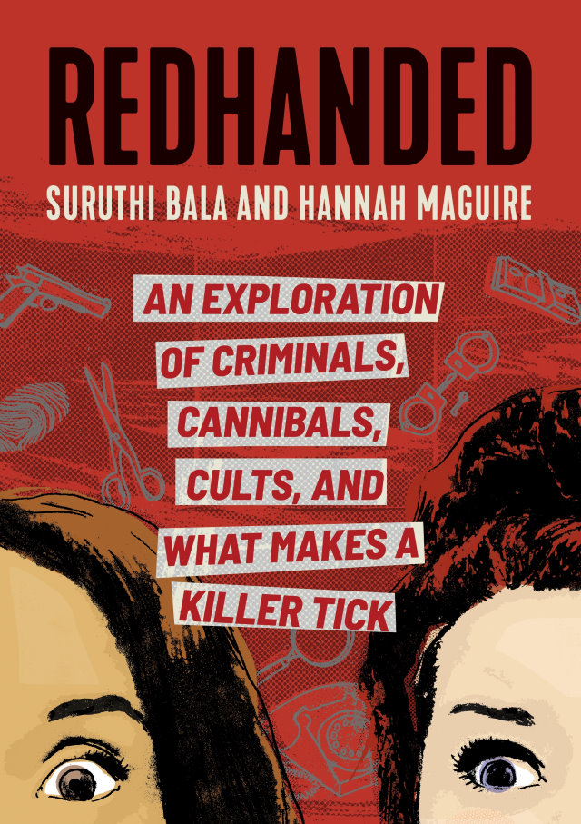 Redhanded book cover