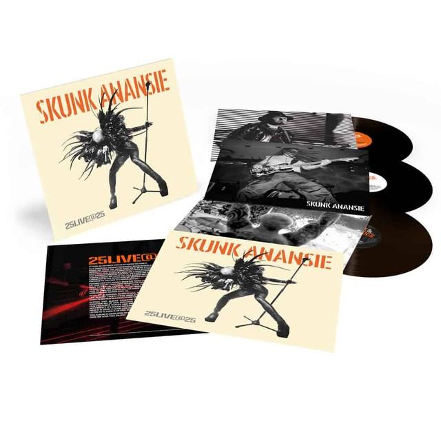 25LIVE@25 Vinyl packshot