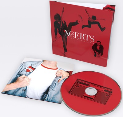 The Xcerts: 'Hold Onto Your Heart' album cover