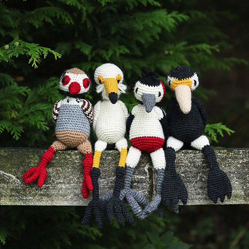 Learn to Crochet the 12 Birds of Christmas