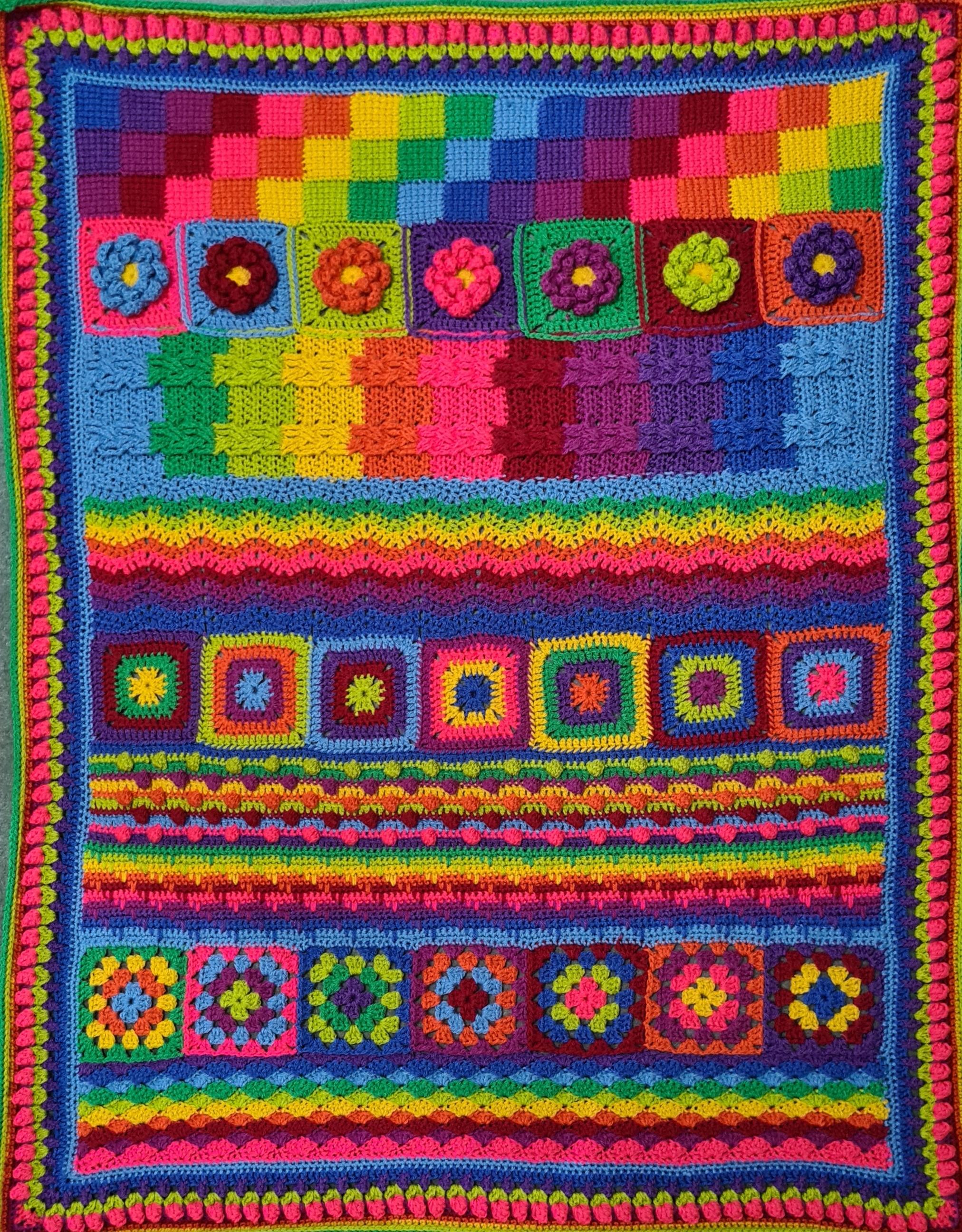 Next Steps in Crochet: Make a Sampler Blanket