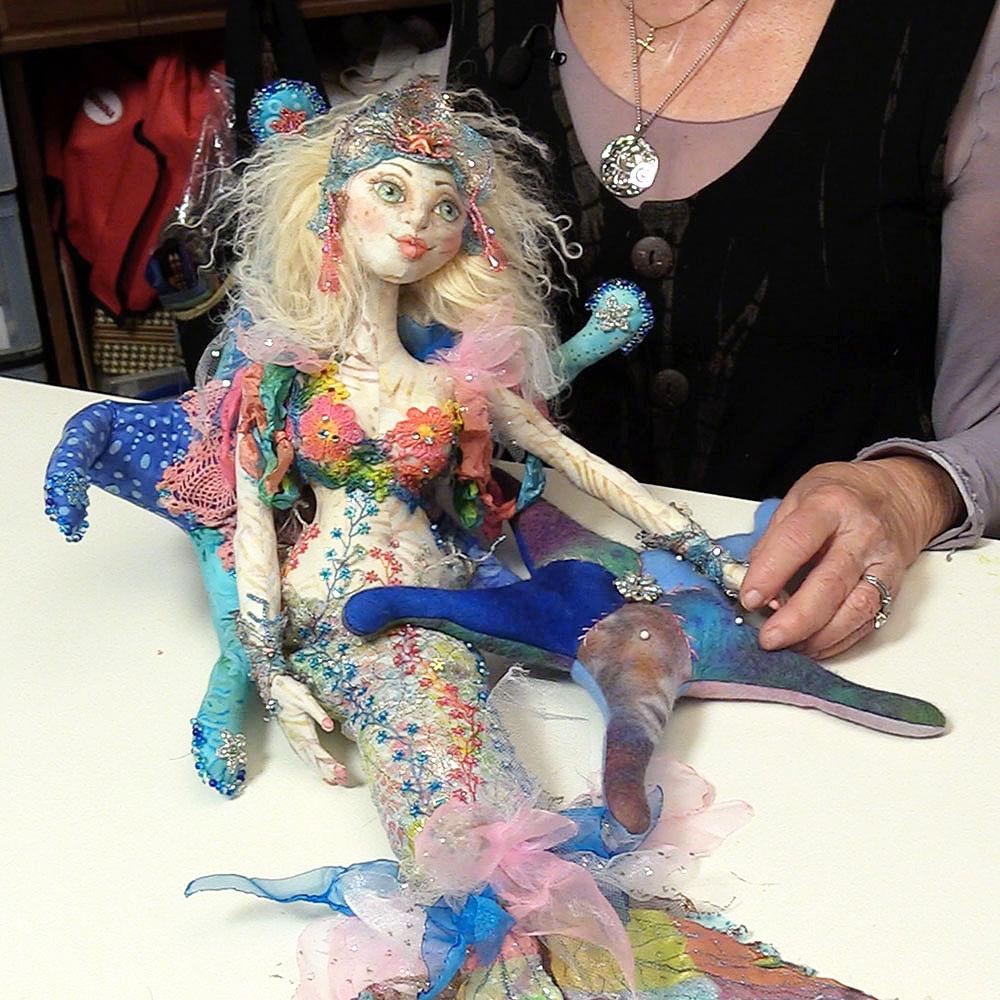 Cloth Doll Mermaids