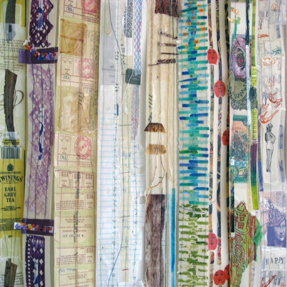 Encaustic with a Textile Sensibility