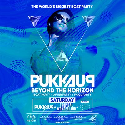 Pukka Up Boat Party San Antonio - Boat Only