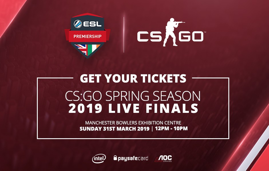 ESL Premiership CS:GO Spring Season 2019 Finals