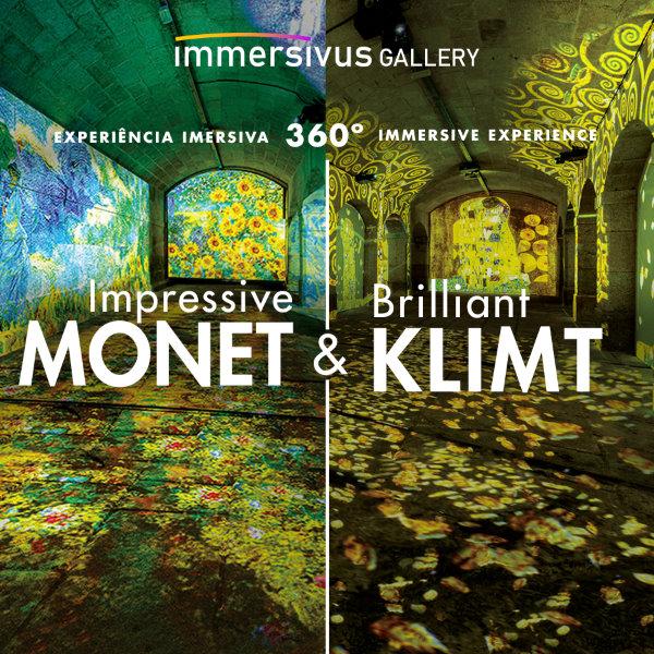 Impressive Monet & Brilliant Klimt