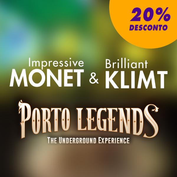 Porto legends + Impressive Monet & Brilliant Klimt