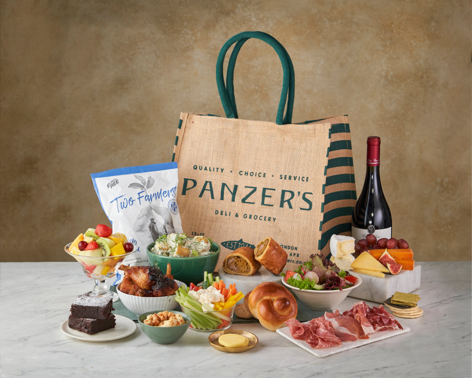 The Deluxe Hamper - Charcuterie
