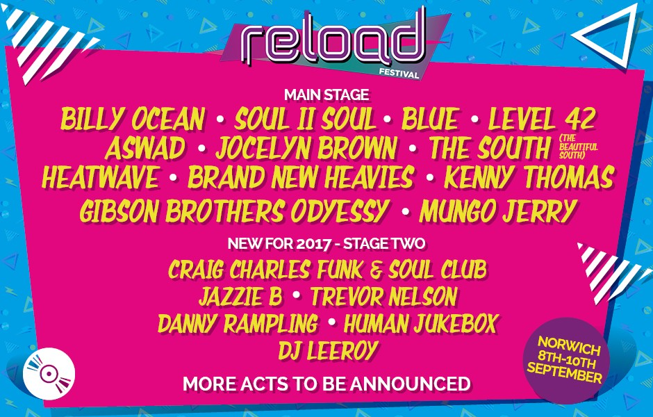 Reload Festival line-up