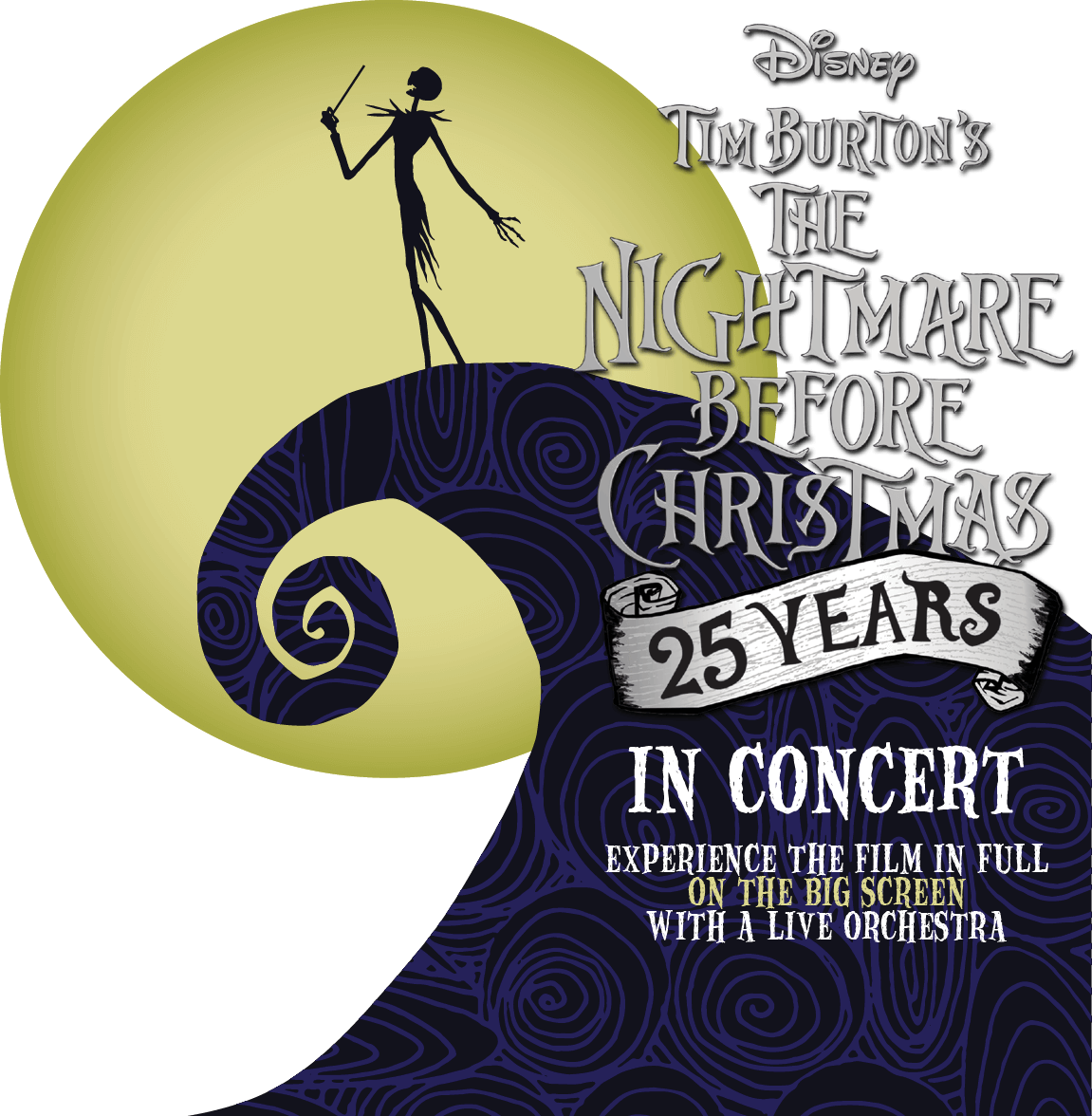 It's just a picture of Universal The Nightmare Before Christmas Logo