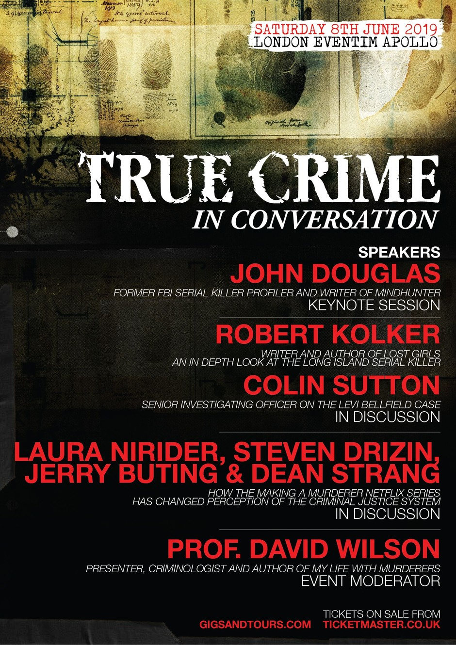 True Crime In Conversation poster